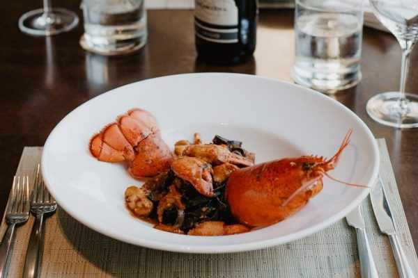 Seafood Restaurant Landing Page